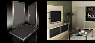 stainless steel frame kitchen cabinet doors