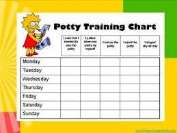 Potty Charts Potty Training Charts Potty Training Printable