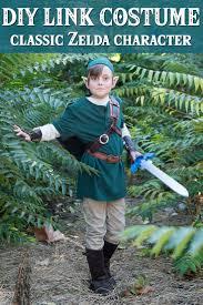 diy link costume from zelda