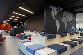 dublin office. Of Progressive Office Design, The Features Activity-based Working, Which Enhances Flexibility By Providing Different Types Private Meeting And Dublin