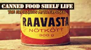 Canned Food Expiration Dates Chart Canned Food Shelf Life Read This Before You Throw It Out