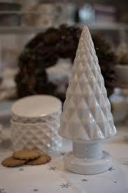 Keramik Tannenbaum Weiß