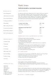 Resume For College Examples Best Ideas Of Resume Examples For ...