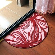 half moon rugs sophisticated half round rug circle rugs kitchen doctor in remodel within half moon