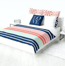 c navy bedding stripe duvet cover fl by best comforter king size sets covers and blankets