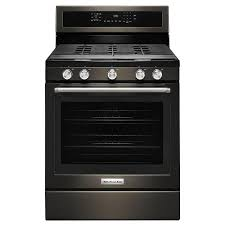 black stainless gas cooktop. Exellent Black KitchenAid Gas Range  58 Cu Ft Black Stainless Steel  RC Willey  Furniture Store Inside Cooktop G