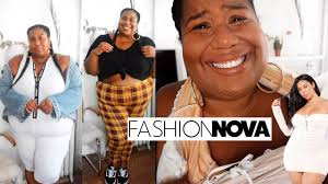 Fashion Nova Plus Size Haul My First And Last Time