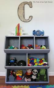 diy toy storage cubby bins via the tale of an ugly house