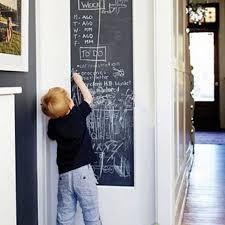 large blackboard 45 x 200cm removable vinyl wall sticker chalkboard decal toys