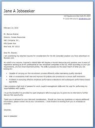 Hr Cover Letter Examples Fair Hr Generalist Cover Letter Examples