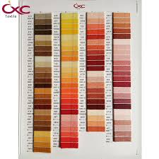 Cxc Embroidery Threads Color Chart 447 Different Colors