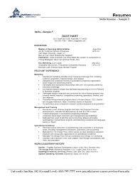 ... Skills For A Resume 21 Skills Resume Sample F ...