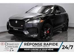 2018 Jaguar F Pace S Awd Toit Panoramique Navigation Laval Jaguar Laval Awd