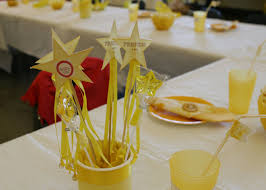 Decorative Stars For Parties Party Table Decoration Ideas For 50th Birthday