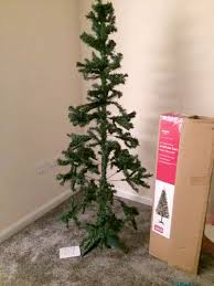 Argos Christmas Tree Looks Nothing Like Picture On The Box Says Worst Christmas Tree