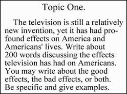 avanzadoeoi an essay essay a television essay topic jpg