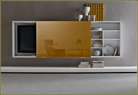 wall mounted tv cabinet sliding doors sliding doors design