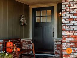 dark bungalow entry door