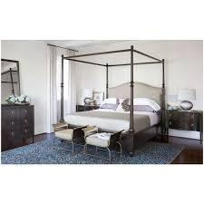 Bernhardt Sutton House Upholstered Canopy Bedroom Set