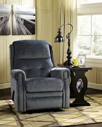 Buy Ashley Furniture Meadowbark Navy Gliding Recliner