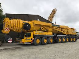 Liebherr 500 Ton Crane Load Chart Kavanagh Crane Hire Ireland Irish Crane Hire All Terrain