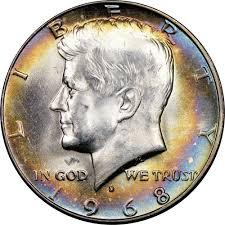 1968 D 50c Ms Kennedy Half Dollars Ngc