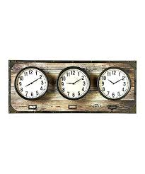 office clocks. Time Zone Clocks For Office Horizontal Wall Clock World