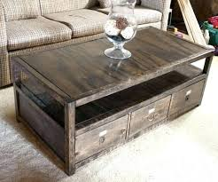 how to build a coffee table from reclaimed wood diy pipe legs arcade machine