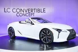 Unveiling The Lexus Lc Luxury Convertible At Naias Detroit Annie Fairfax Midwest Travel Lexus Lc Travel