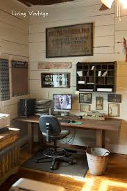 rustic office decor. eclectic home tour living vintage rustic office decor 5