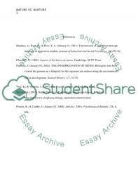 nature versus nurture essay nature nurture debate essay pros of using paper writing services marked by teachers