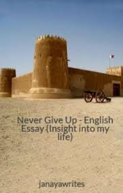 never give up english essay insight into my life janaya  never give up english essay insight into my life