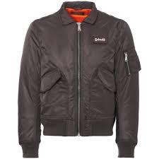 charcoal er flight jacket