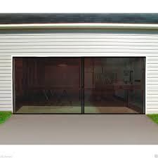 Garage Door Screen Double Car Double Garage Door Screen 16 Ft. W X ...