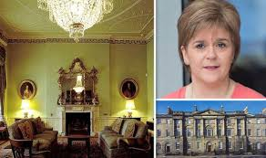 the chandelier at bute house