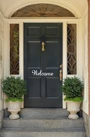 exterior door stickers. welcome front door decal hello vinyl by pacificbeachboutique, $12.00 exterior stickers o