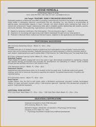 Sample Resume For Teachers Job First Grade Teacher Duties Resume Sample Objective Year