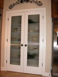 Double Pantry Door Full veiw double pantry doors