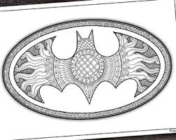 Small Picture Superman coloring page Zentangle Superhero printable