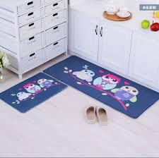 designer owl elephant print area rug unique room floor mats modern