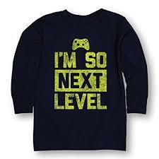 Next Level Kids Size Chart Amazon Com Im So Next Level Youth Long Sleeve Tee Clothing