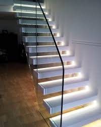 image of stair step lights indoor