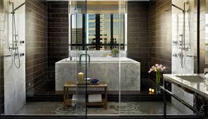 the presidential suite bathroom at the hotel palomar offers unmatched luxury image via hotel palomar