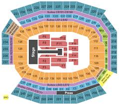 One Direction Lincoln Financial Field Seating Chart One Direction Packages