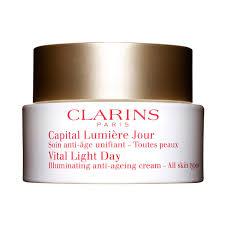 Vital Light Day Cream Amazon Com Clarins Vital Light Day Illuminating Anti