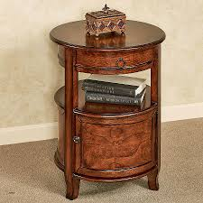 round end table with drawers elegant mabella round accent table with storage hi res wallpaper