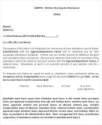 Warning Letter Template Pdf New Employee Warning Notice Template