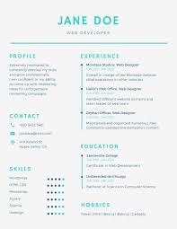 A Resume Template Quick Resume Template Pixtasyco 20