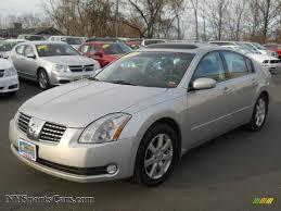 2004 Nissan Maxima 3.5 SL in Liquid Silver Metallic - 873393 ...