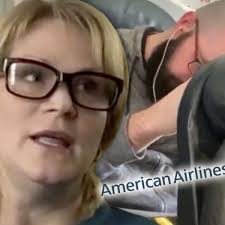 American Airlines Passenger says AA Threatened to Arrest HER Over Punched  Seat